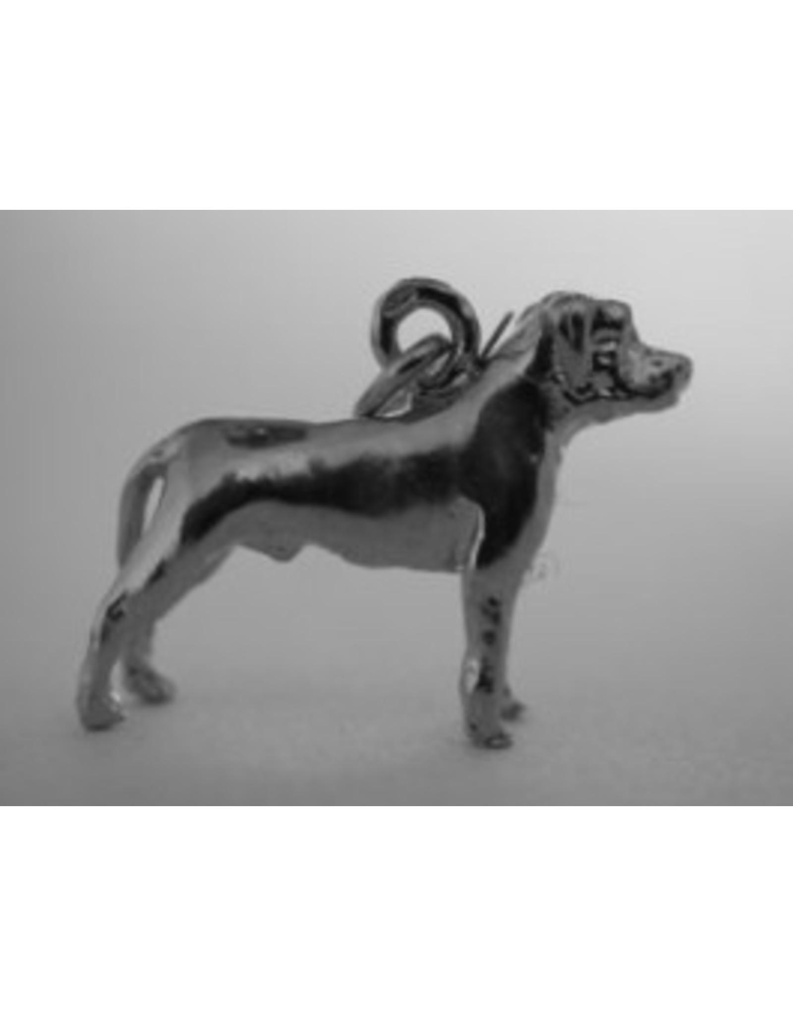 Handmade by Hanneke Weigel Zilveren Perro de presa Canario