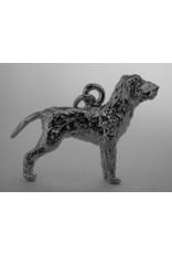 Handmade by Hanneke Weigel Sterling silver Bracco italiano