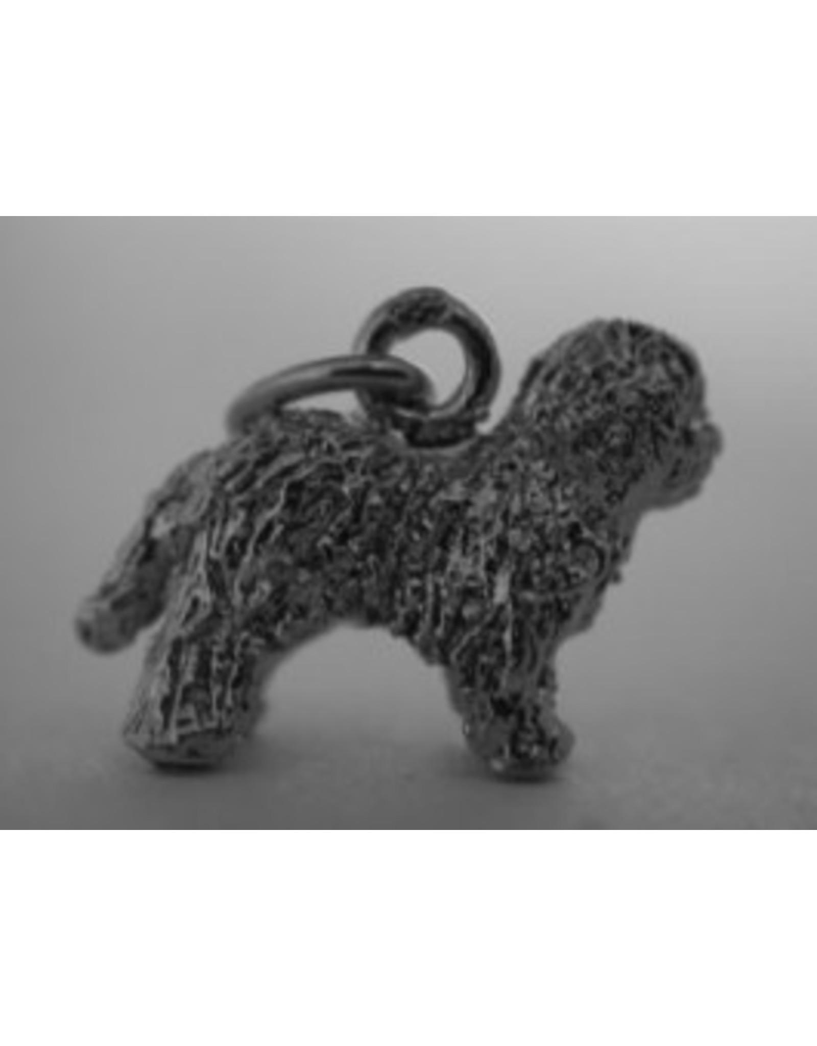Handmade by Hanneke Weigel Zilveren Old english sheepdog
