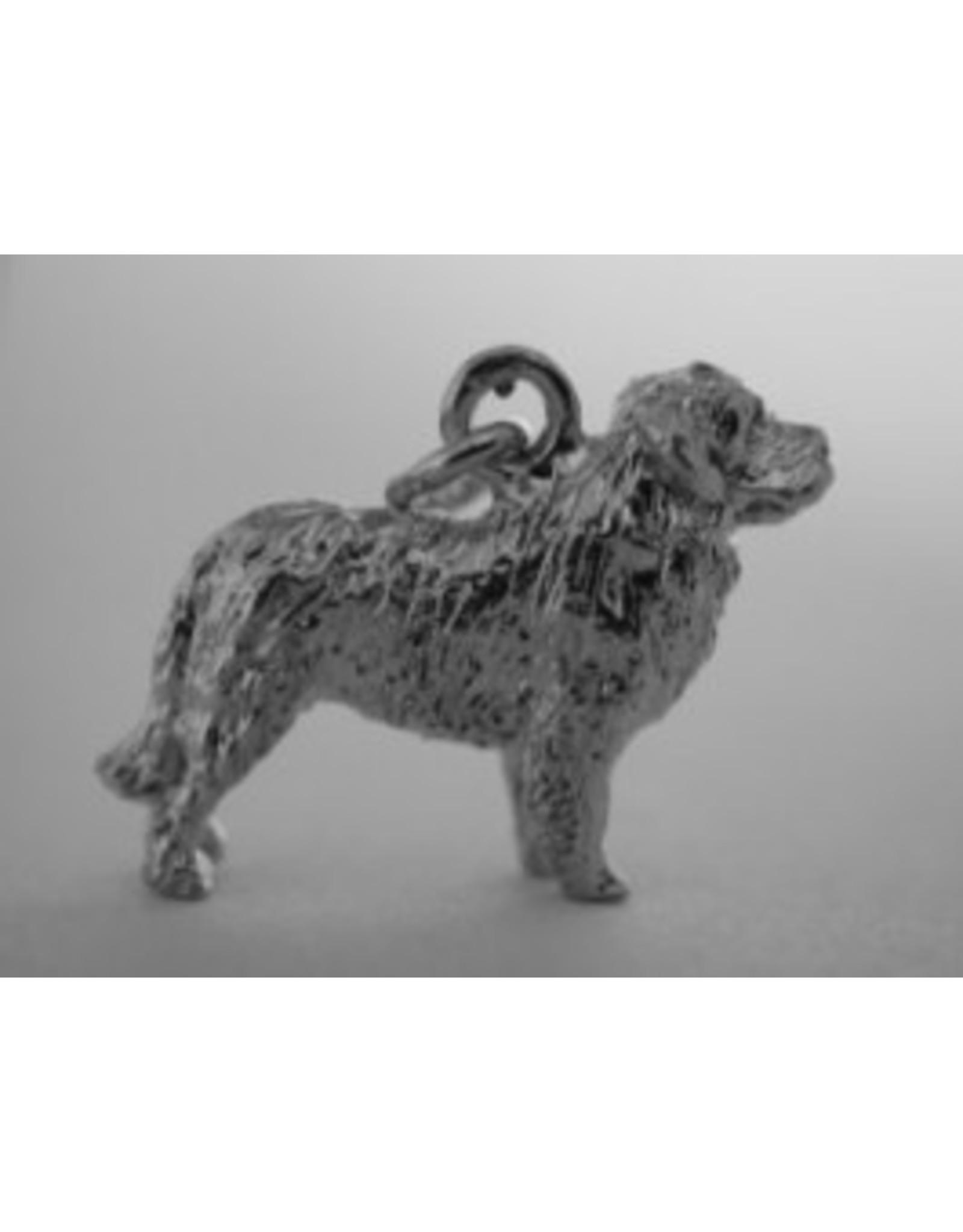 Handmade by Hanneke Weigel Sterling silver Bernese mountain dog