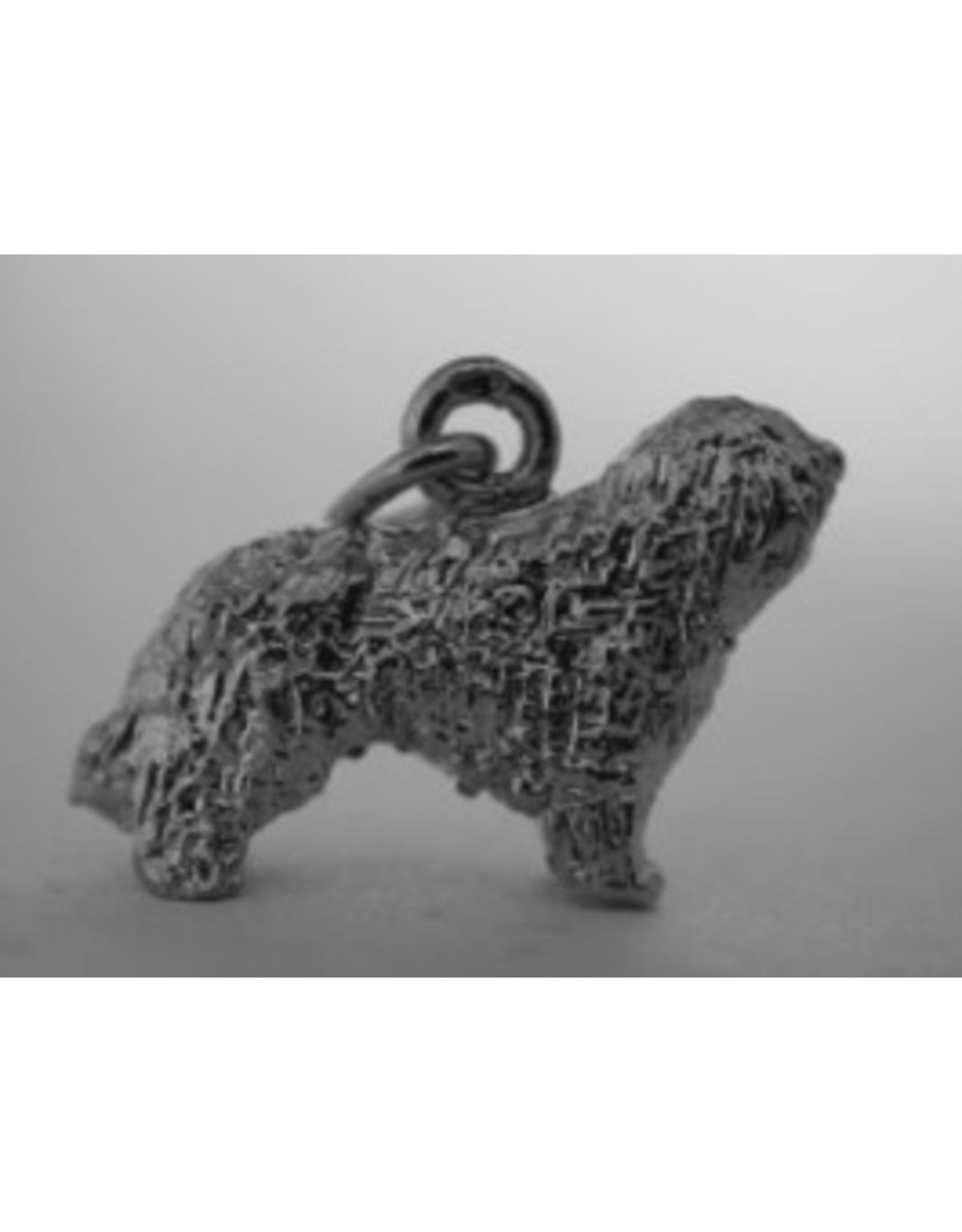 Handmade by Hanneke Weigel Sterling silver Bergamasco shepherd