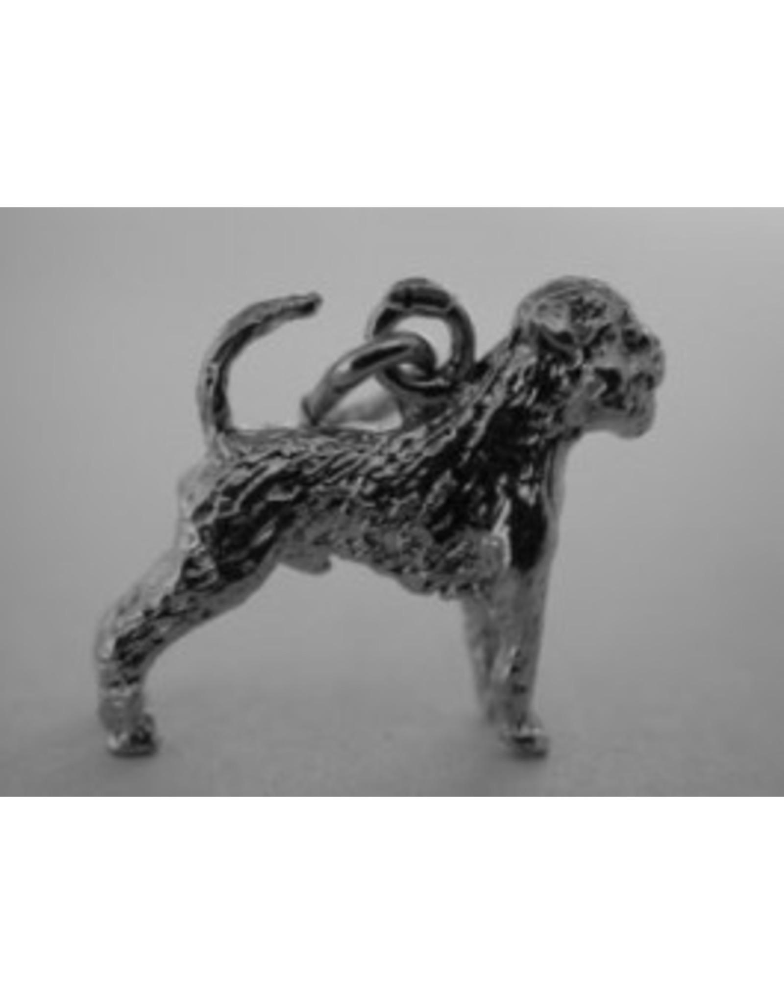 Handmade by Hanneke Weigel Sterling silver Griffon belge