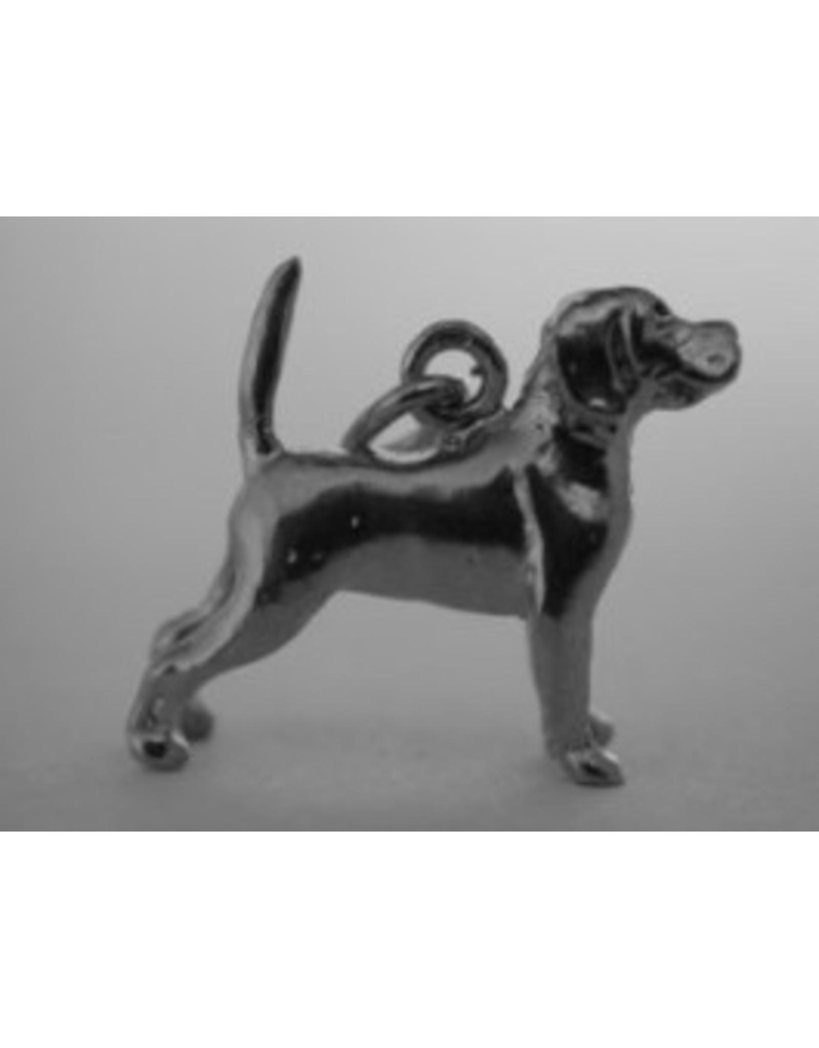 Handmade by Hanneke Weigel Sterling silver Beagle