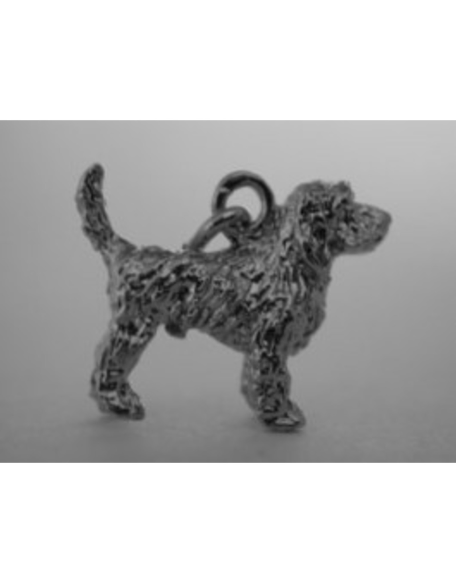 Handmade by Hanneke Weigel Sterling silver Grand basset griffon vendeen