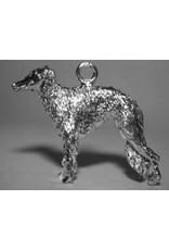 Handmade by Hanneke Weigel Sterling silver Borzoi