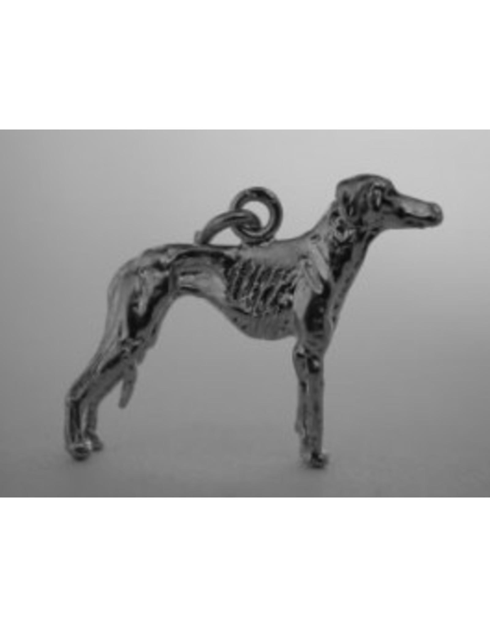Handmade by Hanneke Weigel Sterling silver Azawakh