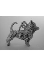Handmade by Hanneke Weigel Zilveren australische terrier