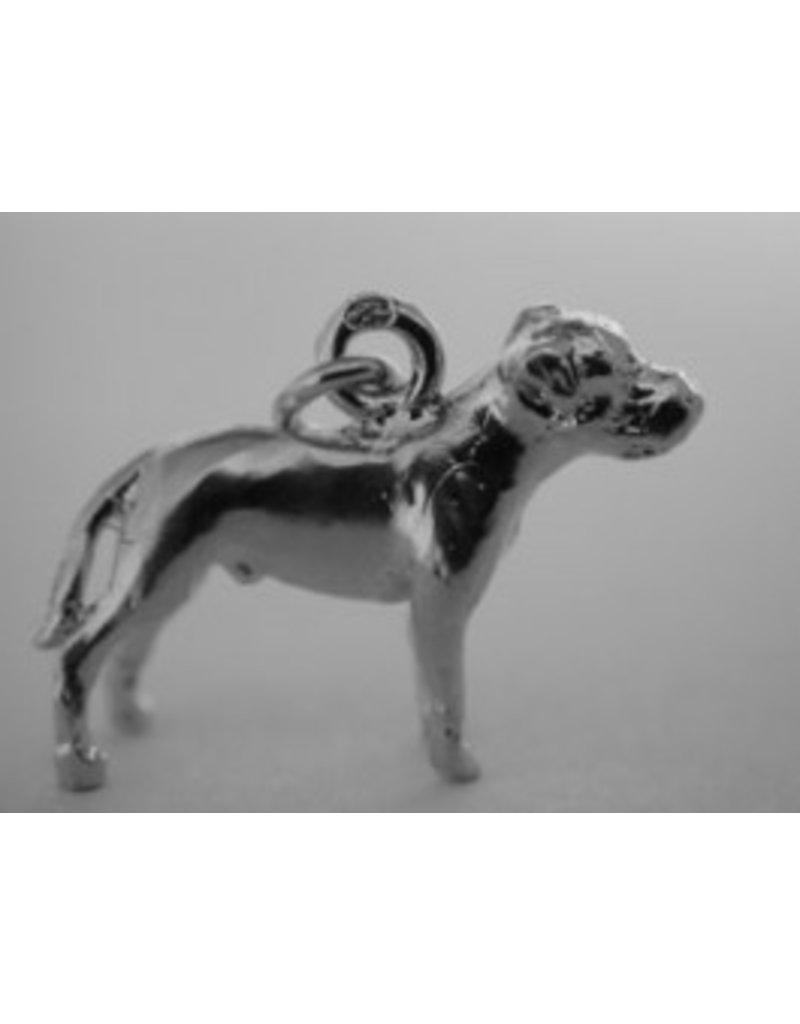 Handmade by Hanneke Weigel Zilveren Amerikaanse bulldog
