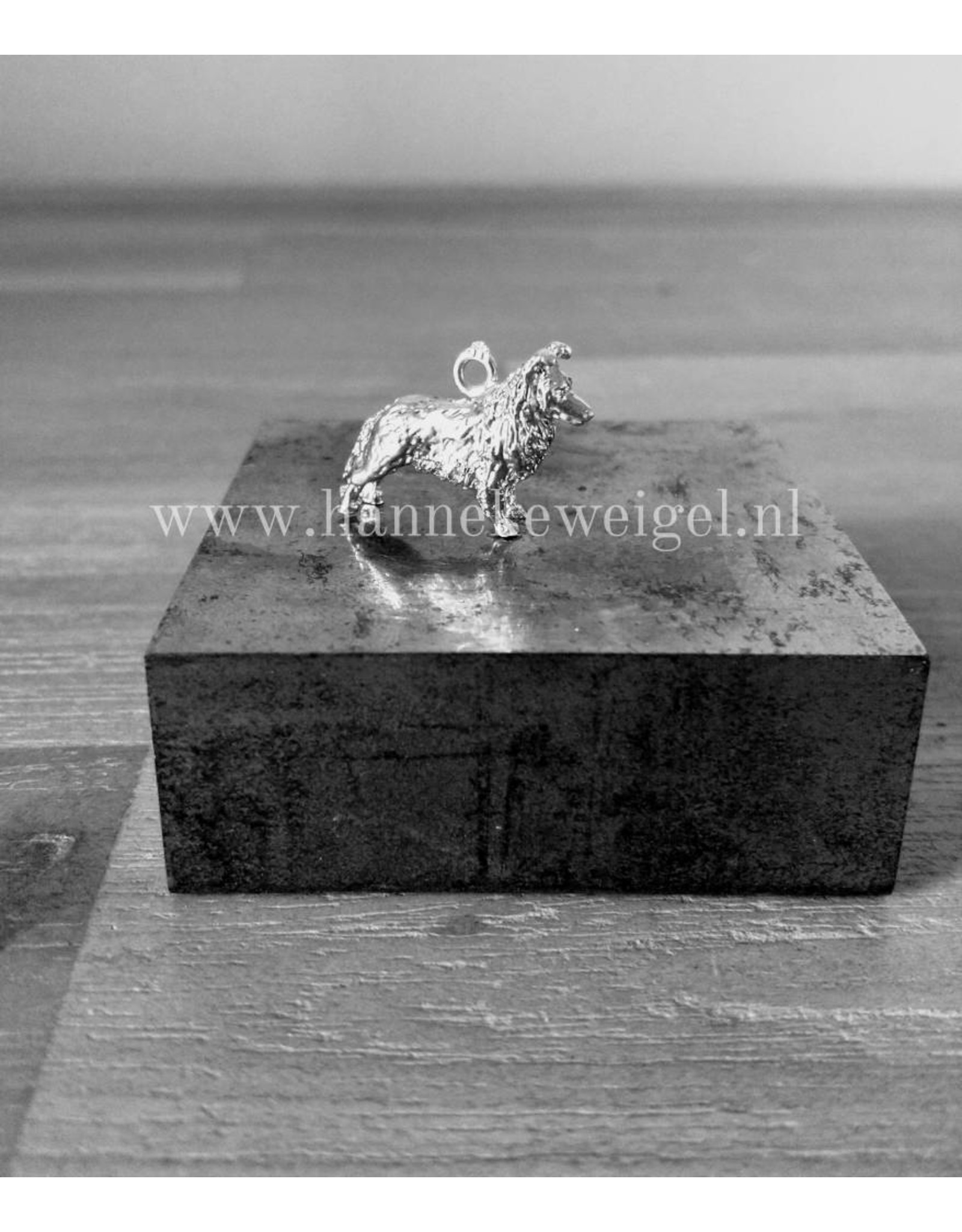 Handmade by Hanneke Weigel Sterling silver Sheltie