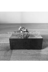 Handmade by Hanneke Weigel Zilveren Franse bulldog