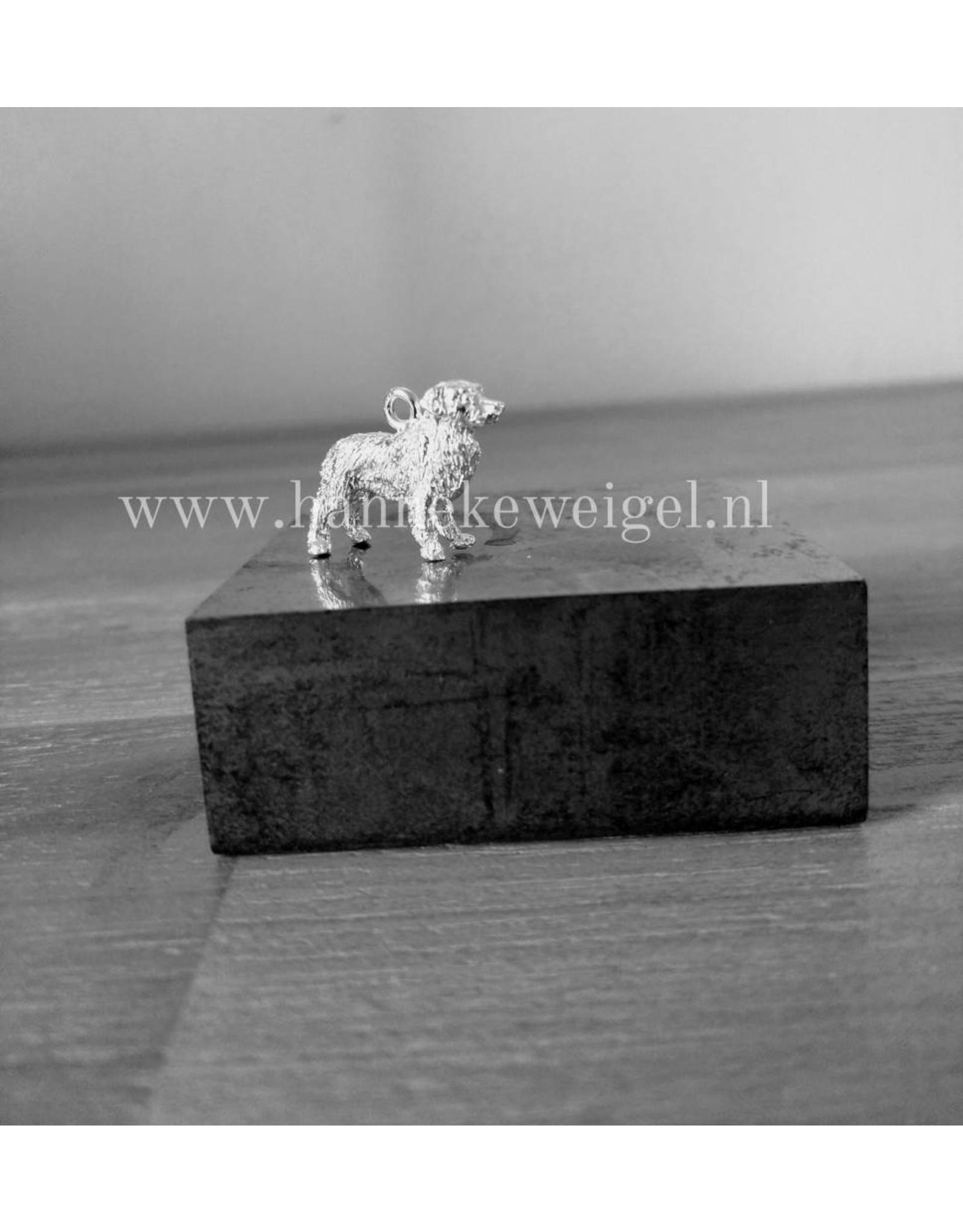 Handmade by Hanneke Weigel Zilveren Nova scotia duck tolling retriever