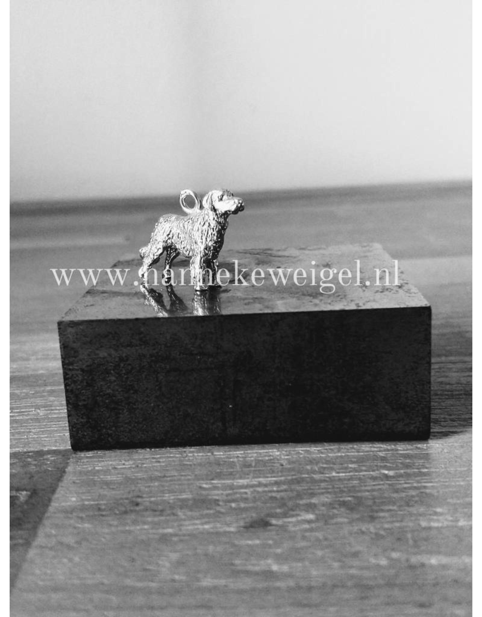 Handmade by Hanneke Weigel Sterling silver Stabyhoun