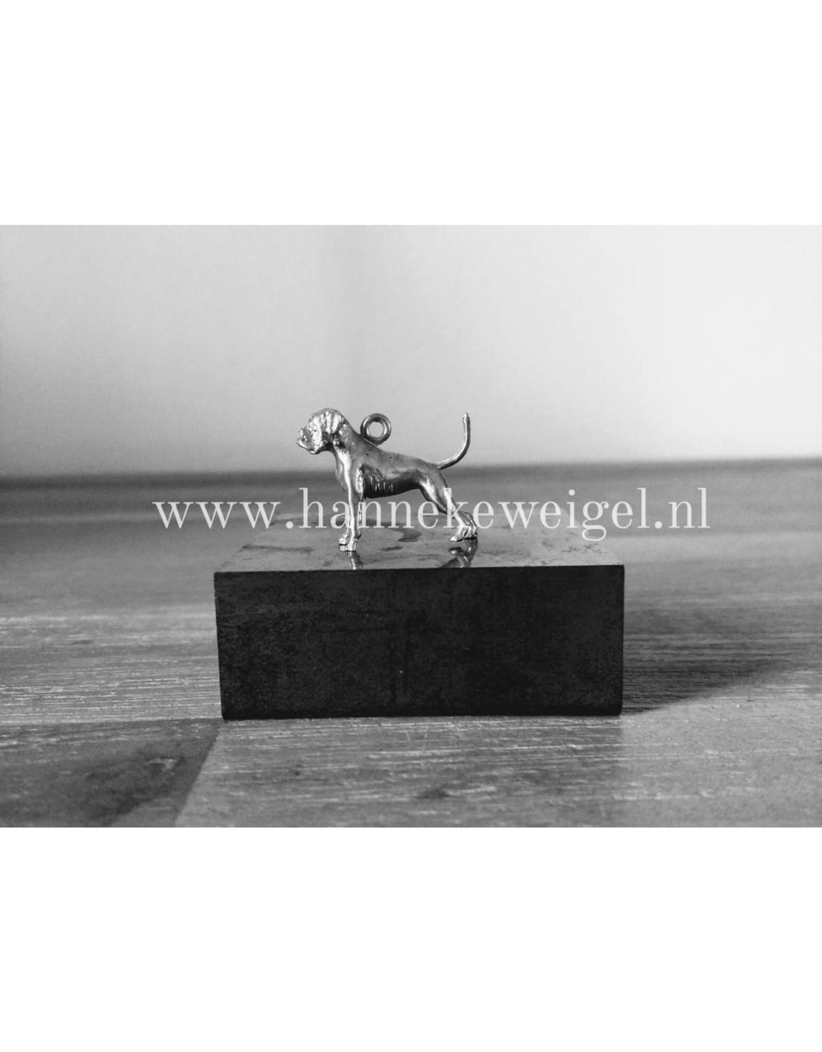 Handmade by Hanneke Weigel Zilveren Boxer