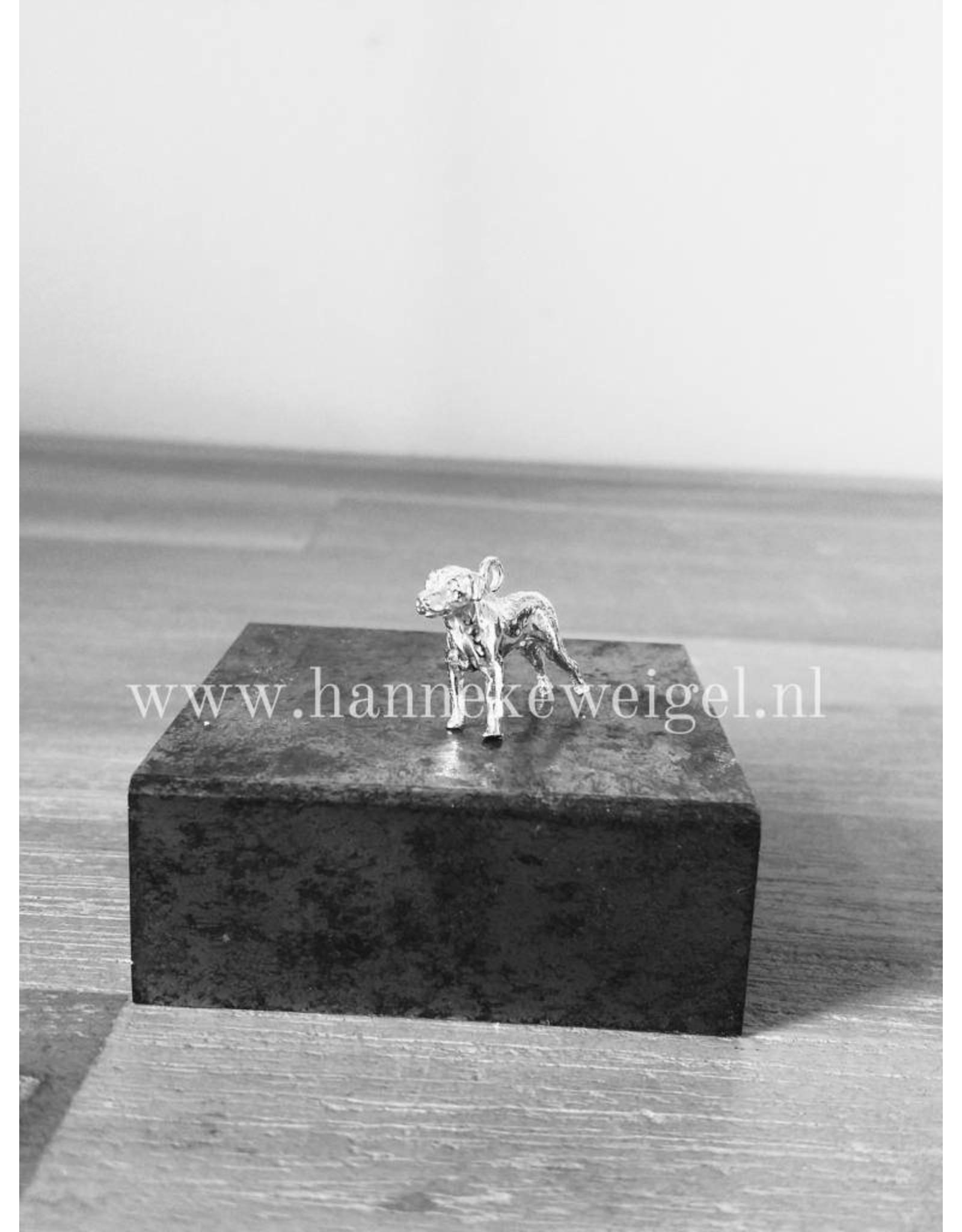 Handmade by Hanneke Weigel Zilveren Rhodesian ridgeback