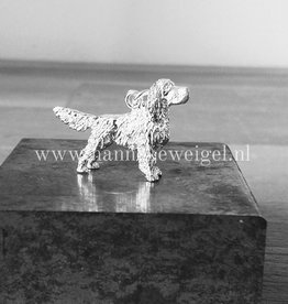 Handmade by Hanneke Weigel English springer spaniel