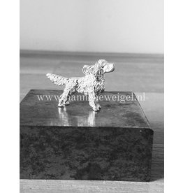 Handmade by Hanneke Weigel English springer spaniel