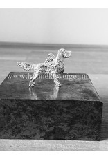 Handmade by Hanneke Weigel Sterling silver Welsh springer spaniel