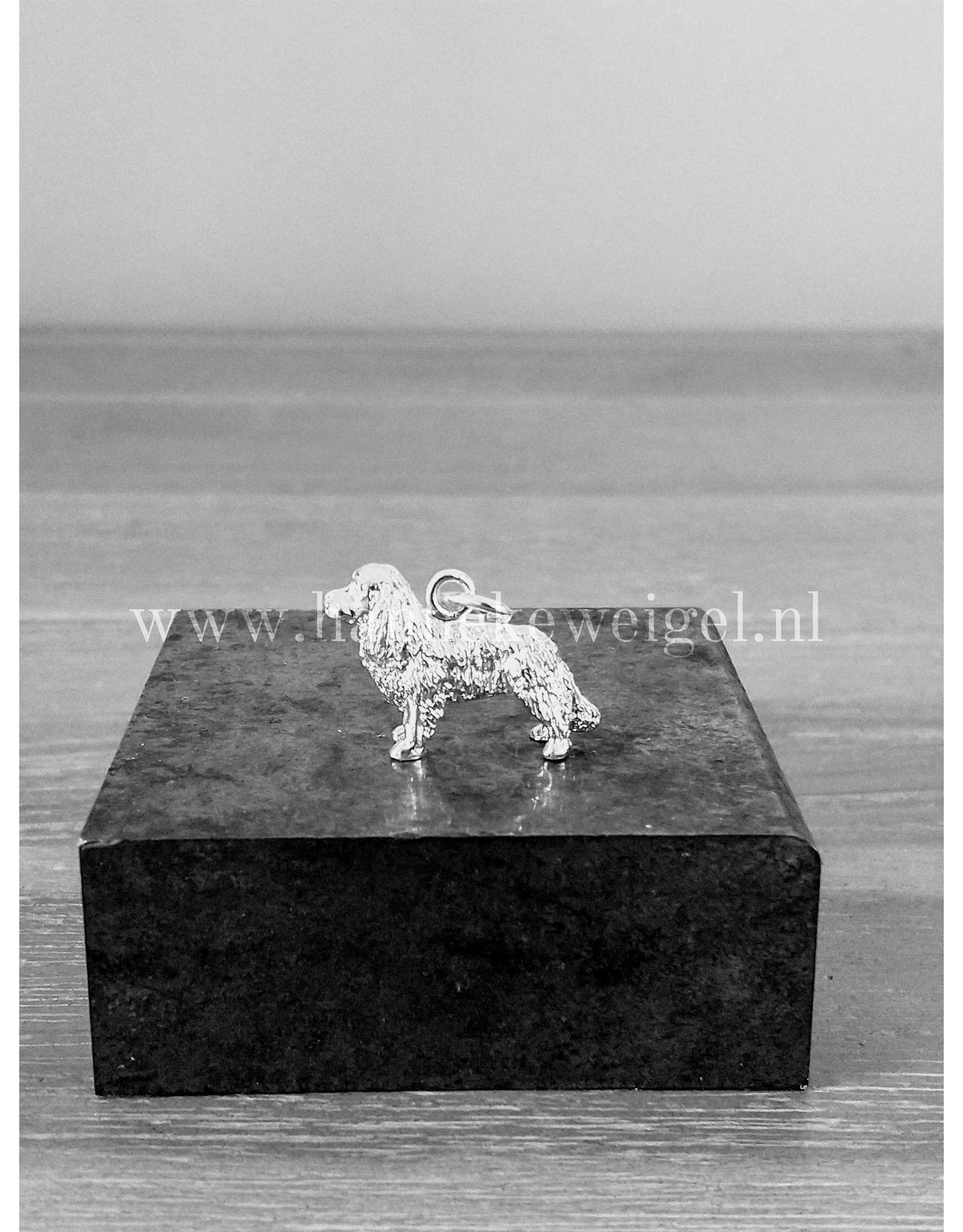 Handmade by Hanneke Weigel Sterling silver Cavalier king charles spaniel