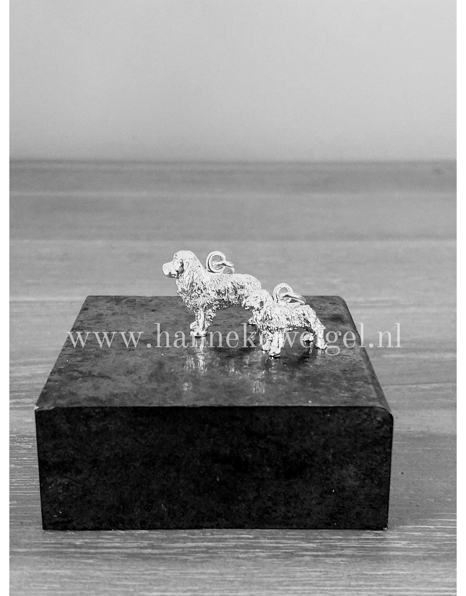 Handmade by Hanneke Weigel Zilveren Cavalier king charles spaniel