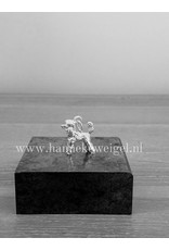 Handmade by Hanneke Weigel Sterling silver Standard poodle