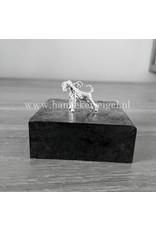 Handmade by Hanneke Weigel Zilveren Riesen schnauzer