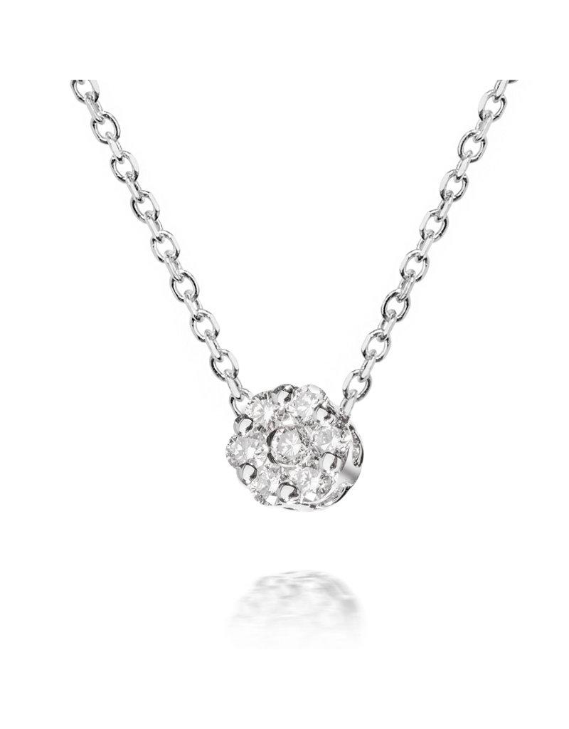 Lovebird Lovebird fleurie pendant with chain