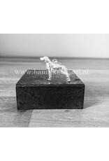 Handmade by Hanneke Weigel Sterling silver German pointer longhaired