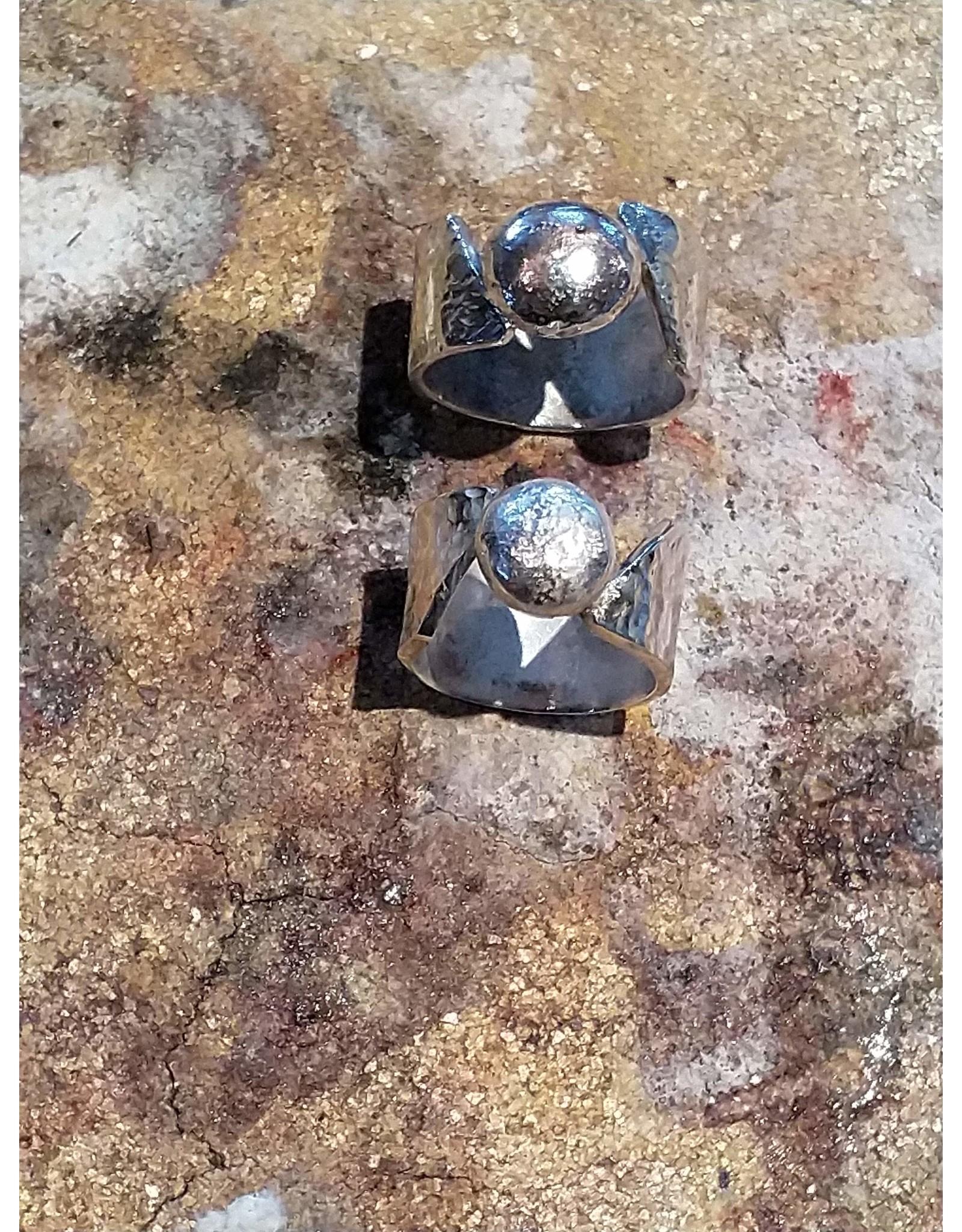 Workshop sterling silver ring or pendant
