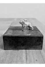Handmade by Hanneke Weigel Sterling silver Briard