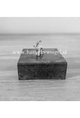 Handmade by Hanneke Weigel Zilveren Airdale terrier