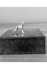 Handmade by Hanneke Weigel Sterling silver Podenco ibicenco (Ibizan podenco)