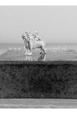 Handmade by Hanneke Weigel Sterling silver Bearded collie