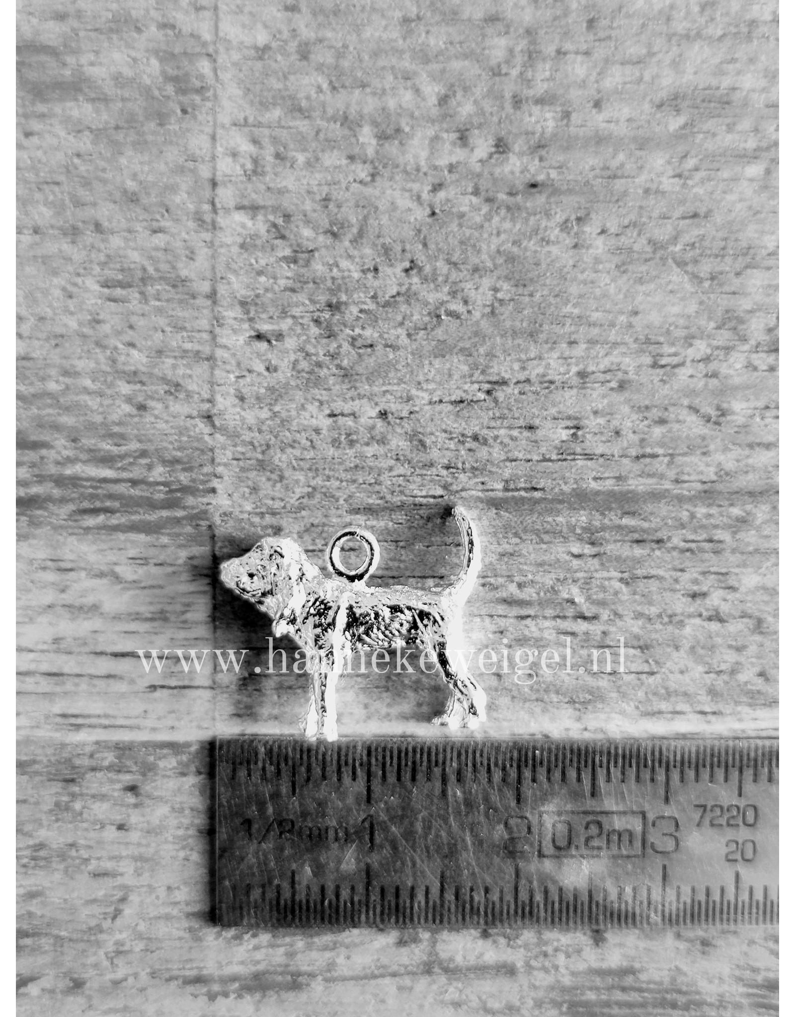 Handmade by Hanneke Weigel Sterling silver Bloodhound