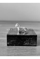 Handmade by Hanneke Weigel Sterling silver Dandie dinmont terrier