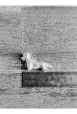 Handmade by Hanneke Weigel Zilveren Dandie dinmont terrier