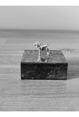 Handmade by Hanneke Weigel Sterling silver Shar-pei