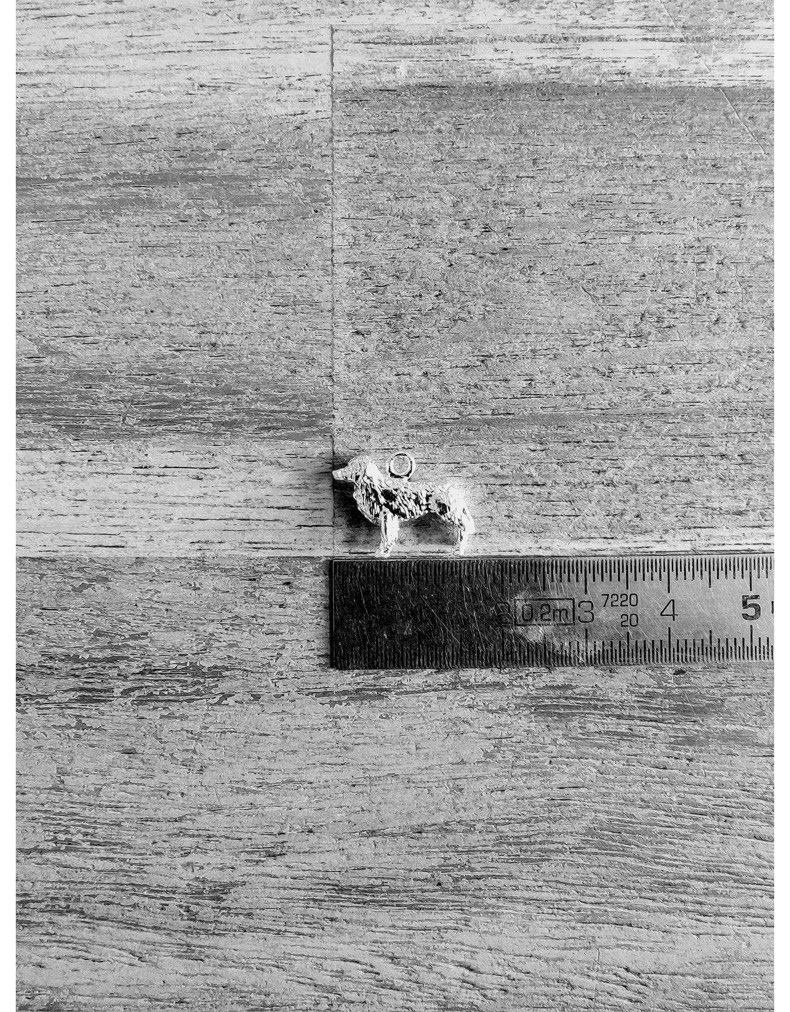 Handmade by Hanneke Weigel Sterling silver Nova scotia duck tolling retriever