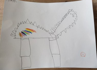 Jewel of a ( childrens)drawing