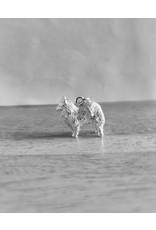 Handmade by Hanneke Weigel Sterling silver Samoyed