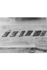 Handmade by Hanneke Weigel Sleutelhanger vintage graveerletter