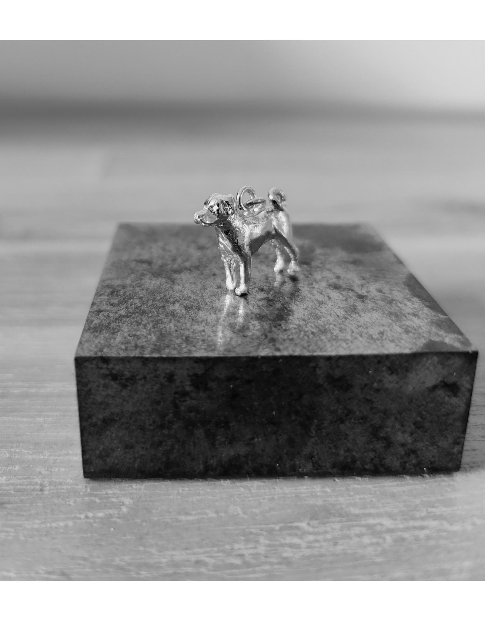 Handmade by Hanneke Weigel Sterling silver Appenzeller sennenhund