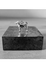 Handmade by Hanneke Weigel Zilveren Appenzeller sennenhond