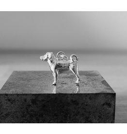 Handmade by Hanneke Weigel Appenzeller sennenhond hanger of bedel