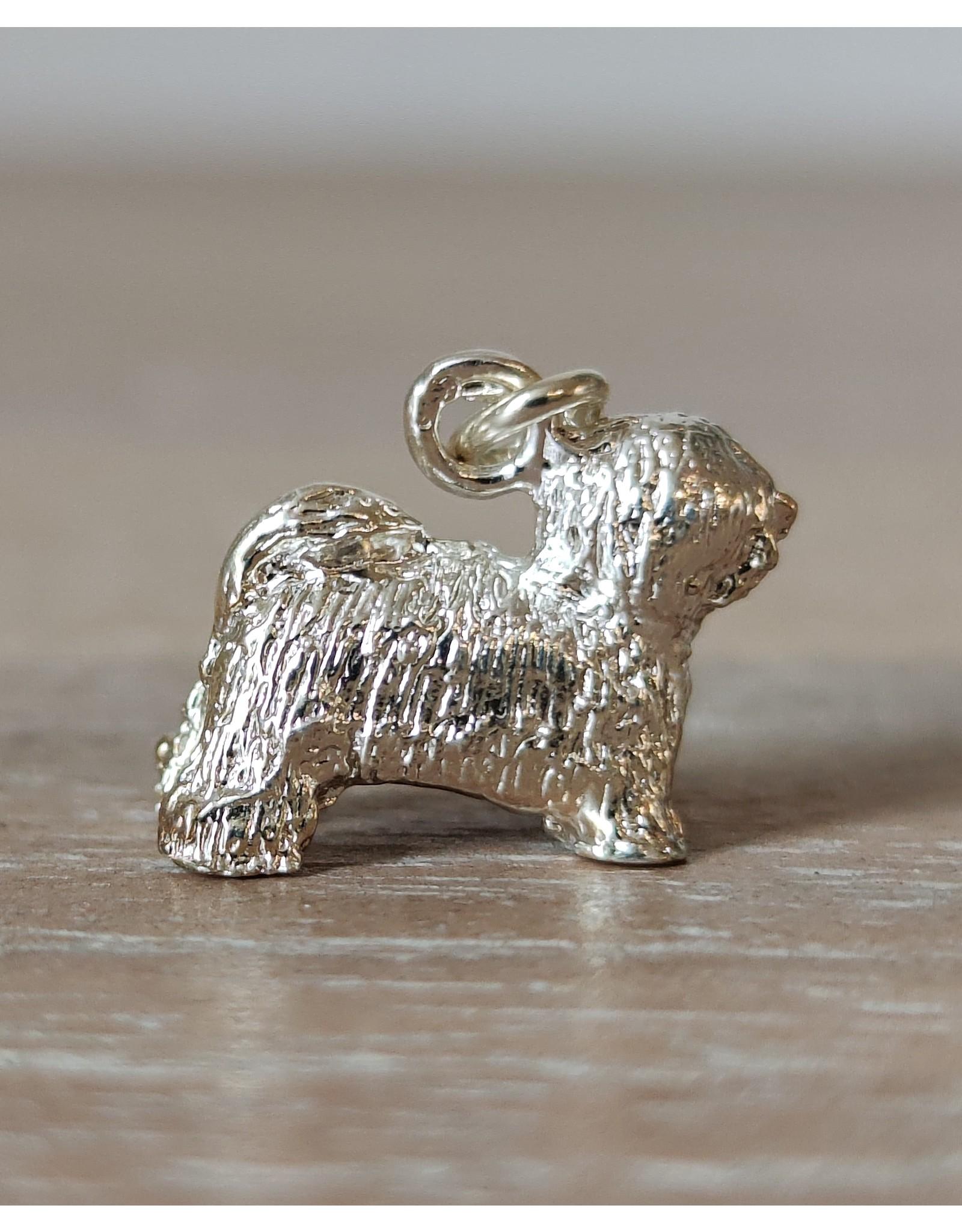 Handmade by Hanneke Weigel Sterling silver Coton de tulear