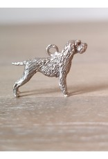 Handmade by Hanneke Weigel Sterling silver Wirehaired pointing griffon