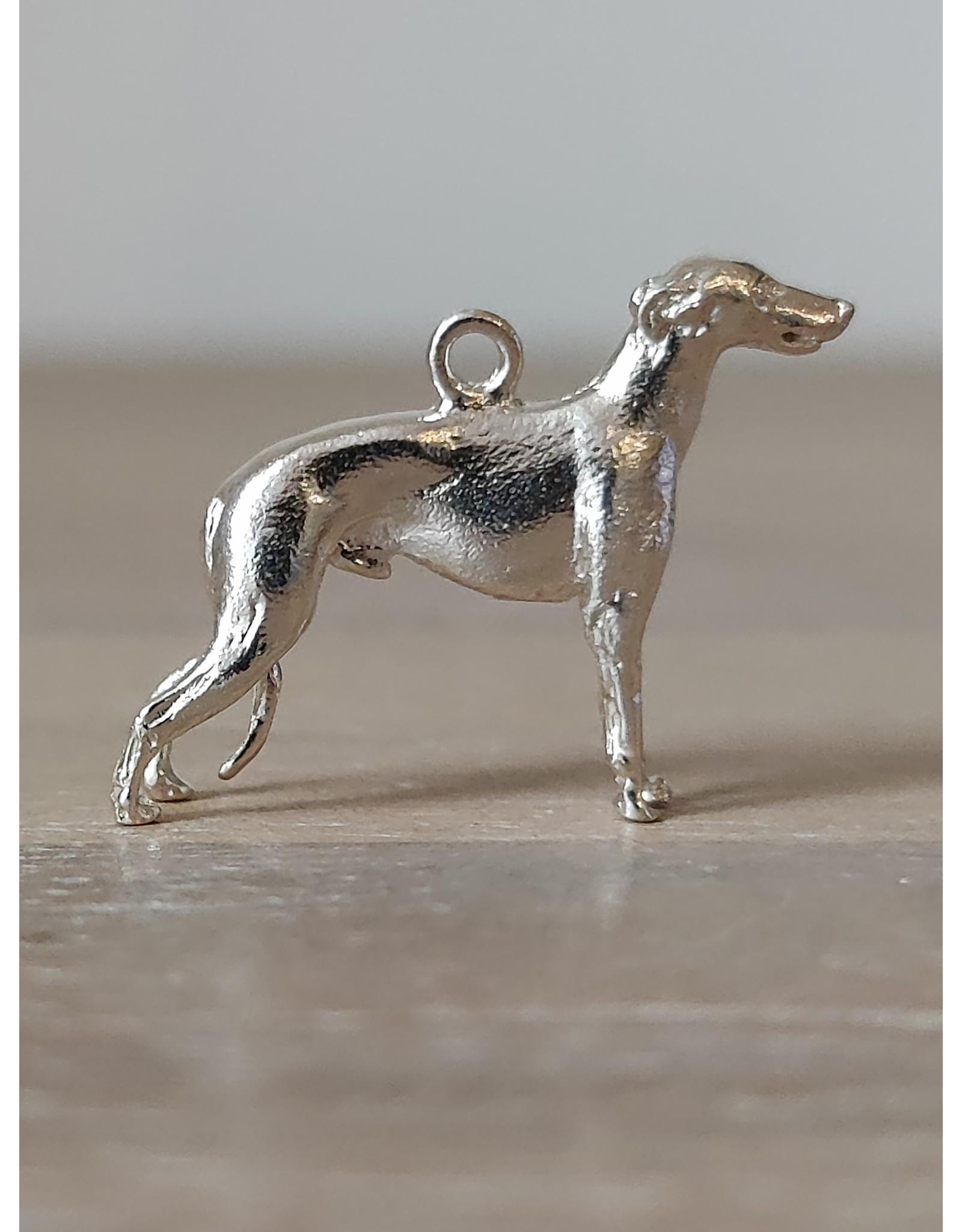 Handmade by Hanneke Weigel Sterling silver Greyhound