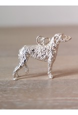 Handmade by Hanneke Weigel Sterling silver Deer hound
