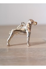 Handmade by Hanneke Weigel Sterling silver Great dane