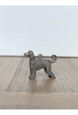 Handmade by Hanneke Weigel Sterling silver afghan greyhound