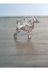 Handmade by Hanneke Weigel Zilveren Schipperke
